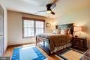 Large 2nd bedroom with hardwood. - 1206 WOODBROOK CT, RESTON