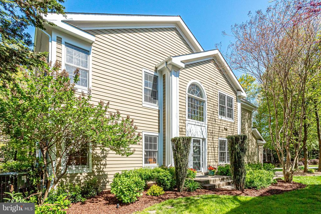 Private entrance and extra windows. - 1206 WOODBROOK CT, RESTON