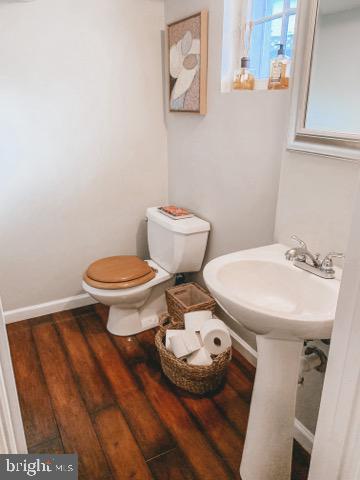 Large Lower Level Half Bath - 9341 COLUMBIA BLVD, SILVER SPRING