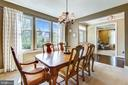 Formal Dining Room for special occasions - 23397 MORNING WALK DR, BRAMBLETON