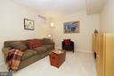 Lower Level Family Room - 2917 S WOODSTOCK ST #A, ARLINGTON