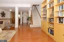 Patio Entry to Open Main Level Floor Plan - 2917 S WOODSTOCK ST #A, ARLINGTON