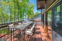 Deck off the dining and great rooms - 300 MT PLEASANT DR, LOCUST GROVE