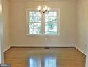 Formal DR with newer chandelier & windows - 12520 BROWNS FERRY RD, HERNDON