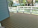 Kitchen/b-fast SGD w-out to newer Trex deck - 12520 BROWNS FERRY RD, HERNDON