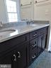 Quartz countertop with brushed nickel faucets - 12520 BROWNS FERRY RD, HERNDON