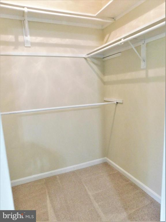 Primary BR: walk-in closet & adjacent linen closet - 12520 BROWNS FERRY RD, HERNDON