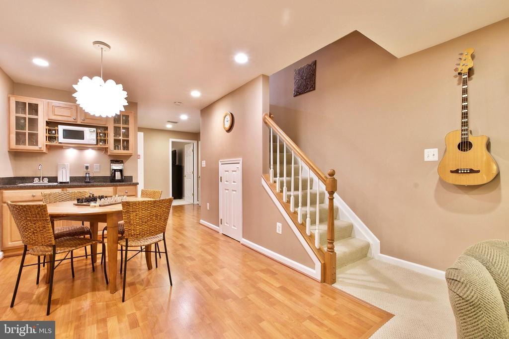 Basement with Wet Bar! - 20766 RIVERBIRCH PL, STERLING