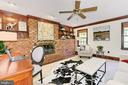 Family room off Foyer with access to Kitchen - 10700 HAMPTON RD, FAIRFAX STATION