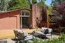 One of many relaxing outdoor areas - 11530 HIGHVIEW AVE, SILVER SPRING