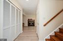 Staircase and rec room view basement. - 4 CATHERINE LN, STAFFORD