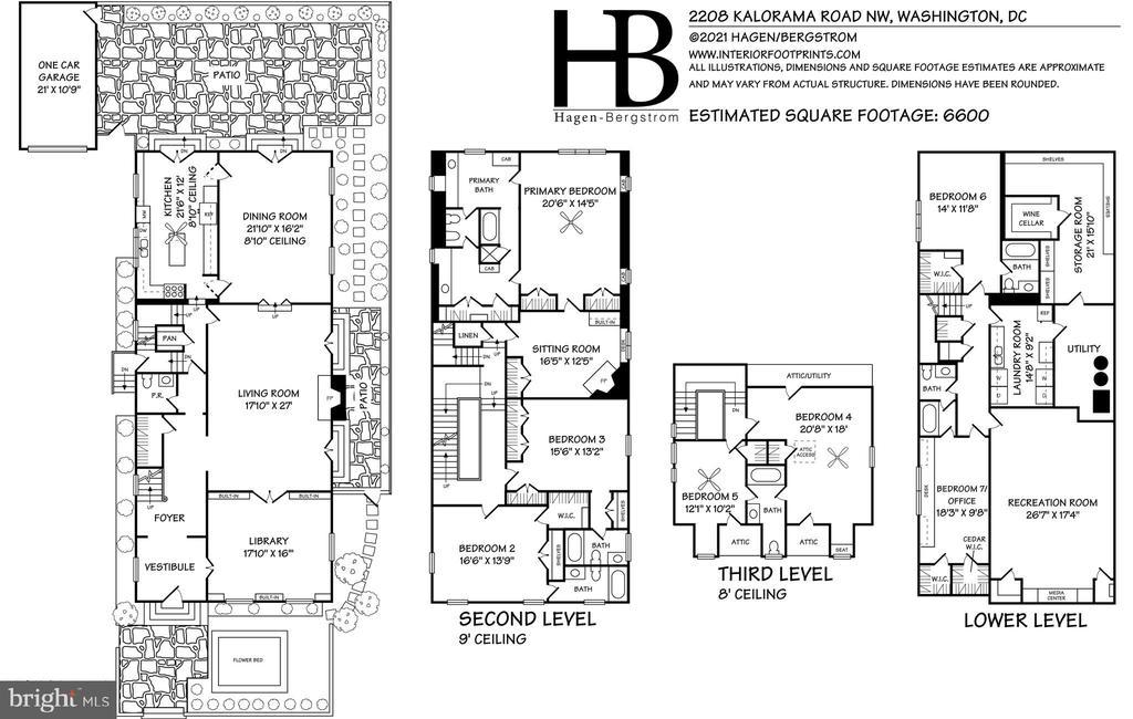 Floor Plan - 2208 KALORAMA RD NW, WASHINGTON