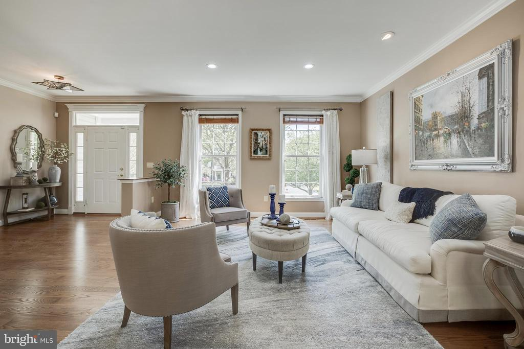 Living Room - 13981 FLAGTREE PL, MANASSAS