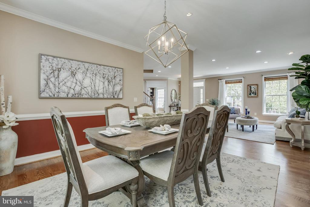 Dining Room to Living Room - 13981 FLAGTREE PL, MANASSAS