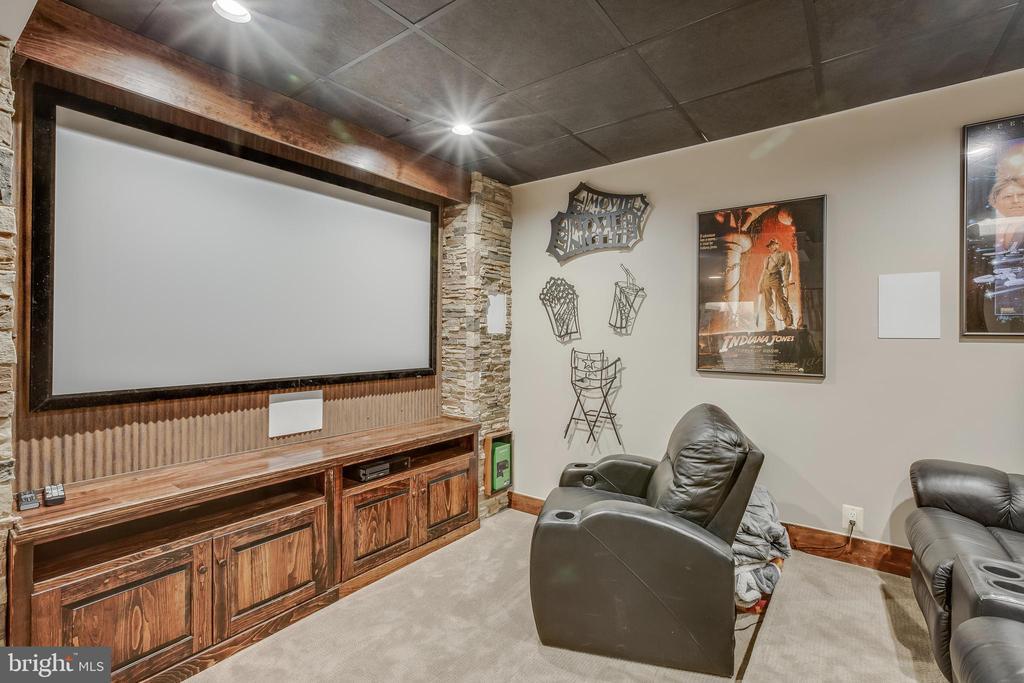 Movie Room - 13981 FLAGTREE PL, MANASSAS