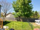 Fenced area of backyard - 4 BERTRAM BLVD, STAFFORD