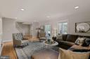 Family Room - 7608 MANOR HOUSE DR, FAIRFAX STATION
