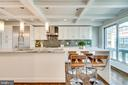 Large Kitchen Island - 132 N UNION ST, ALEXANDRIA