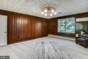 Second room on main level - 3033 KNOLL DR, FALLS CHURCH
