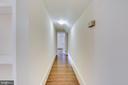 Hallway on upper level - 3033 KNOLL DR, FALLS CHURCH