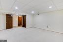 Multi purpose room on lower level - 3033 KNOLL DR, FALLS CHURCH