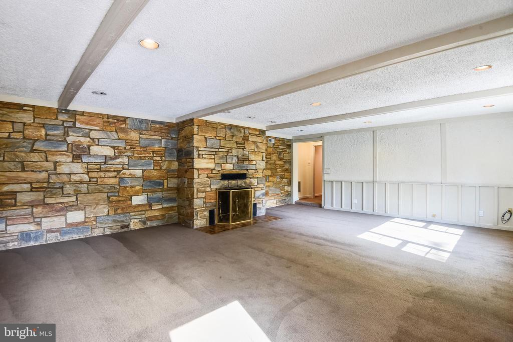 Fully finished walk-out lower level - 3033 KNOLL DR, FALLS CHURCH