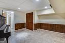 Can be used as a  theater room - 3033 KNOLL DR, FALLS CHURCH