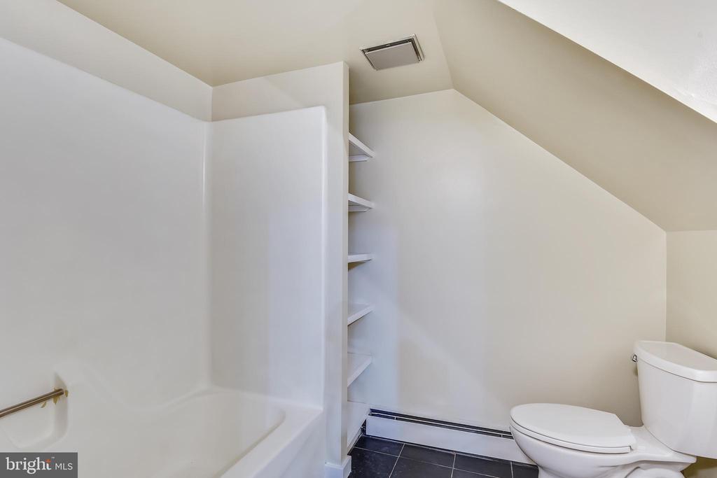 Full bath on lower level - 3033 KNOLL DR, FALLS CHURCH