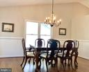 Dining with Chair rail & Vaulted Ceiling!!! - 222 BIRDIE RD, LOCUST GROVE