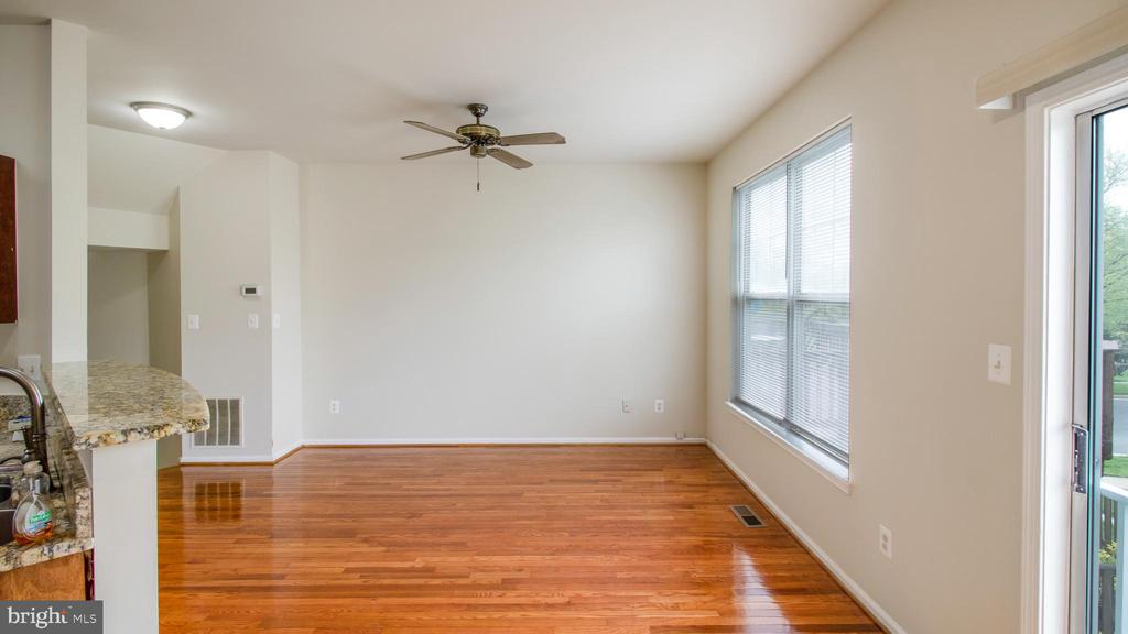 Rejuvenated Main Level Hardwood  Floors - 43533 LAIDLOW ST, CHANTILLY