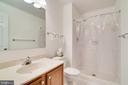 lower level full bath - 6850 WILLIAMSBURG POND CT, FALLS CHURCH