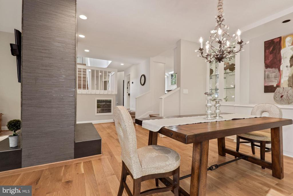 Step down into a large dinning area - 2108 OWLS COVE LN, RESTON