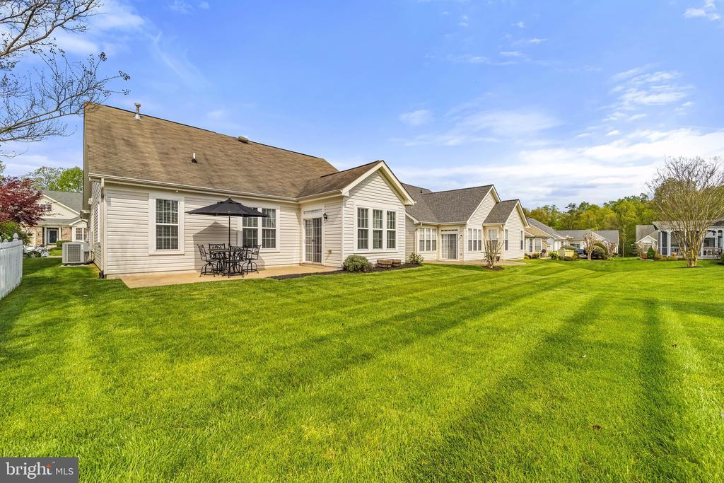 Rear yard w/patio - 6293 CULVERHOUSE CT, GAINESVILLE
