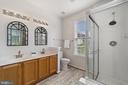 Primary en suite bathroom w/double vanities - 6293 CULVERHOUSE CT, GAINESVILLE