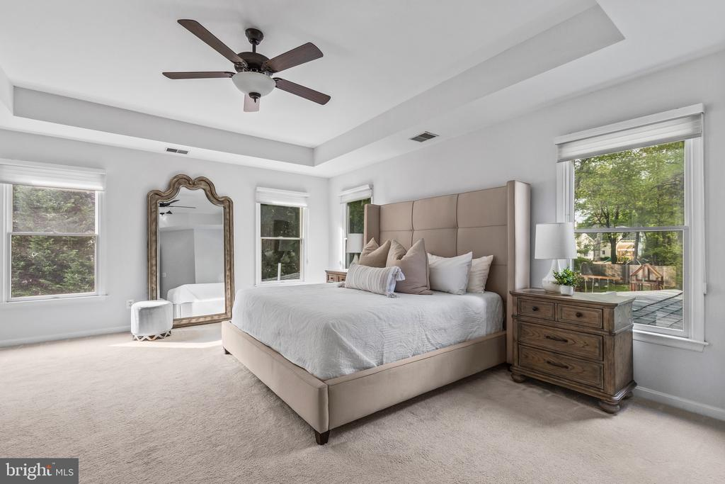 Bright and airy with tray ceiling. - 304 BERRY ST SE, VIENNA