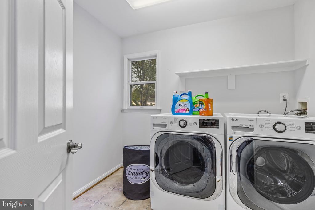 Upper level laundry. - 304 BERRY ST SE, VIENNA