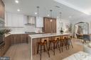 Upgraded two-finish kitchen - 16 BAKERS WALK #104, ALEXANDRIA