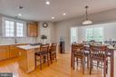 Island with Cooktop topped with - 13297 SCOTCH RUN CT, CENTREVILLE