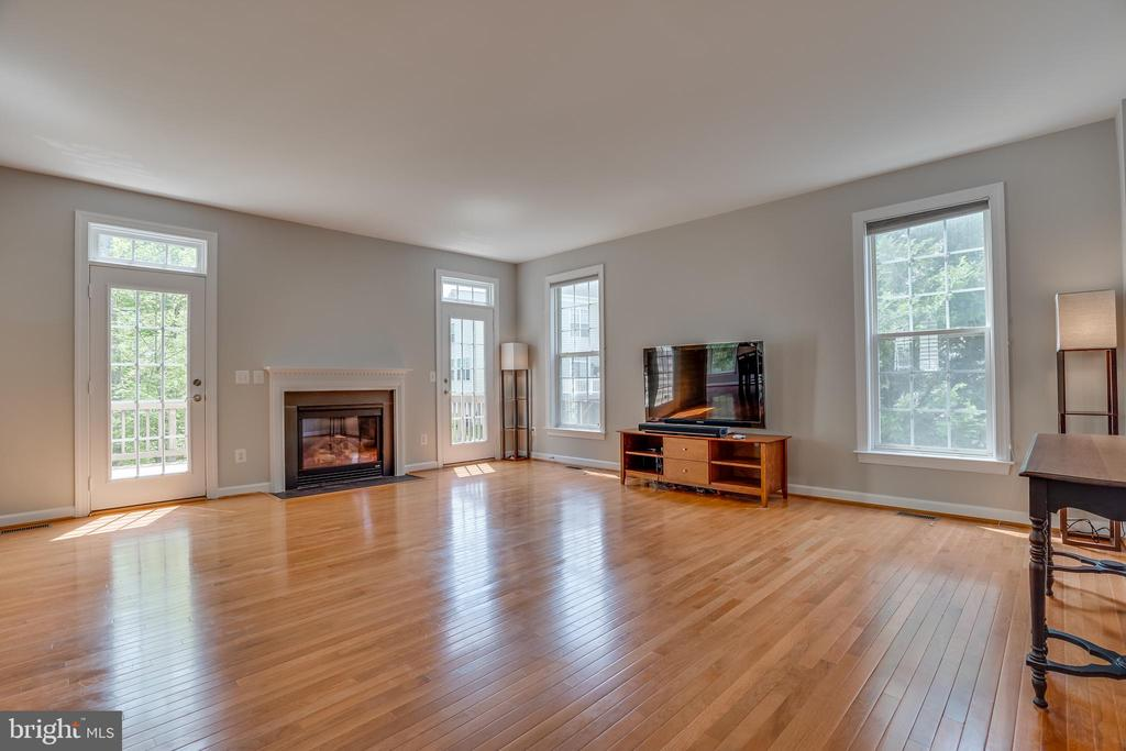 2 Transomed Glass Doors to Deck - 13297 SCOTCH RUN CT, CENTREVILLE