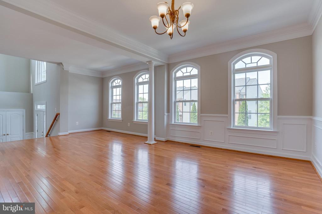 Open Concept, Lots of Natural Light, Crown Molding - 13297 SCOTCH RUN CT, CENTREVILLE