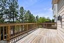Well maintained deck with plenty of space to grill - 115 GRACIE PARK DR, HERNDON