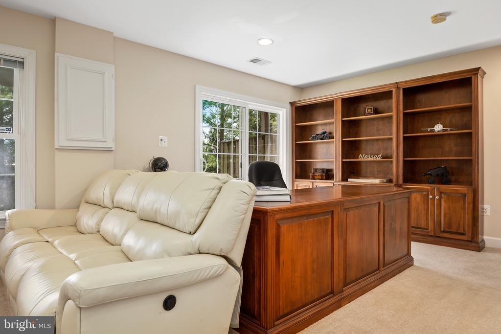 The first level is a walkout with tons of light - 115 GRACIE PARK DR, HERNDON