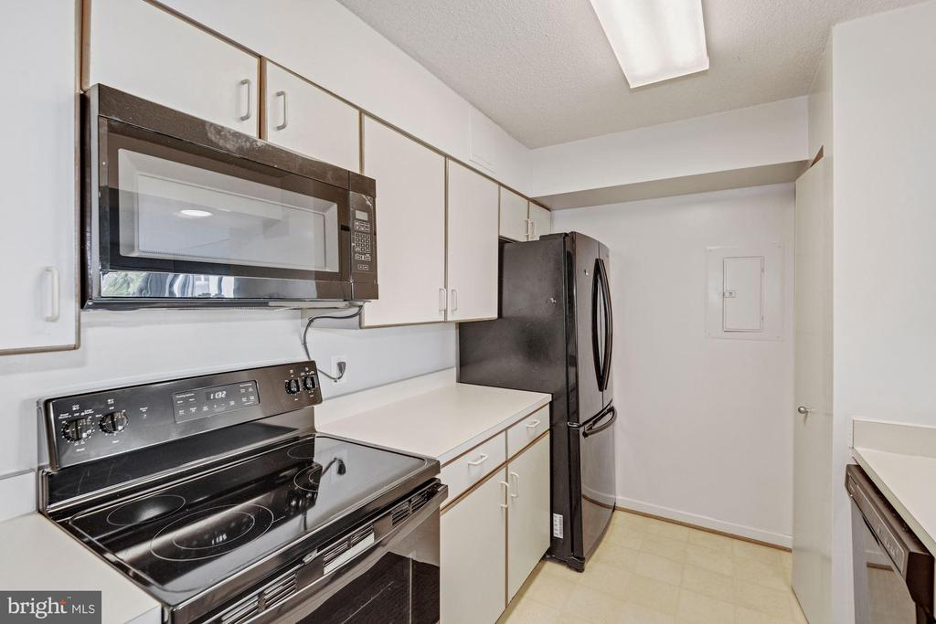Plenty of Counter and Cabinetry - 2111 WISCONSIN AVE NW #524, WASHINGTON