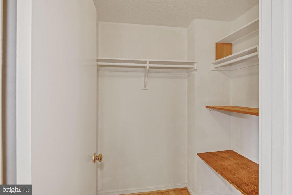 One of Several Closets - 2111 WISCONSIN AVE NW #524, WASHINGTON