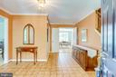 View as you enter this wonderful home - 19 GRISWOLD CT, POTOMAC FALLS