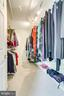 Large walk in closet with access to spacious loft - 19 GRISWOLD CT, POTOMAC FALLS