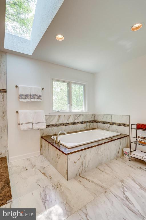 Newly upgraded primary bathroom - 19 GRISWOLD CT, POTOMAC FALLS