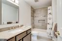 Recently upgraded family bathroom - 19 GRISWOLD CT, POTOMAC FALLS