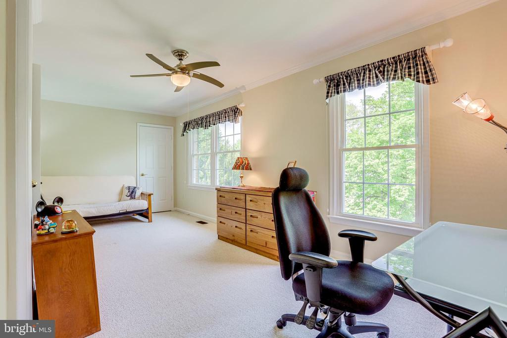 Oversized second bedroom with lots of options - 19 GRISWOLD CT, POTOMAC FALLS