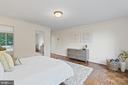 Primary Bedroom with Dual Walk-in Closets - 1200 N NASH ST #240, ARLINGTON